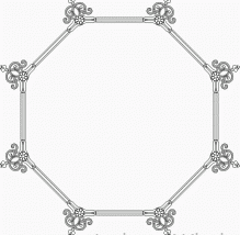 Round table designed pattern