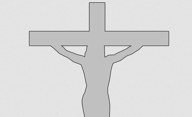 Religious cross pattern