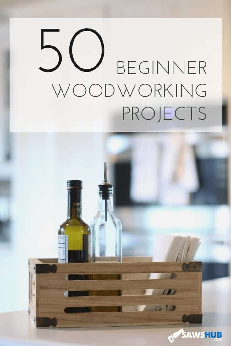 50 small, simple, and easy beginner woodworking projects