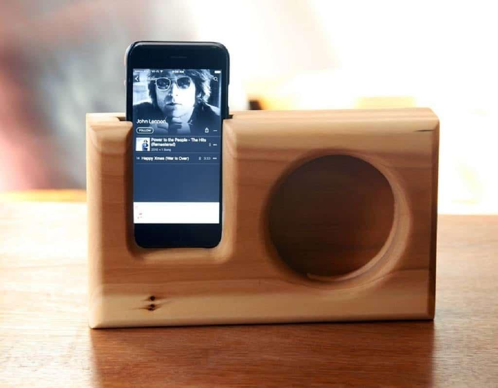 Phone speaker DIY