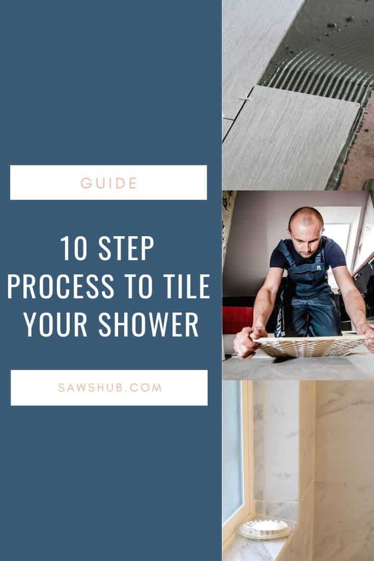 10 Steps on How to Tile a Shower in Your Bathroom
