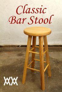 Classc brown stool