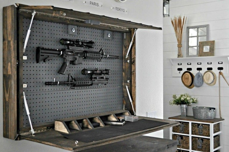 9 DIY Gun Safe and Cabinet Ideas to Store Your Firearms - post thumbnail
