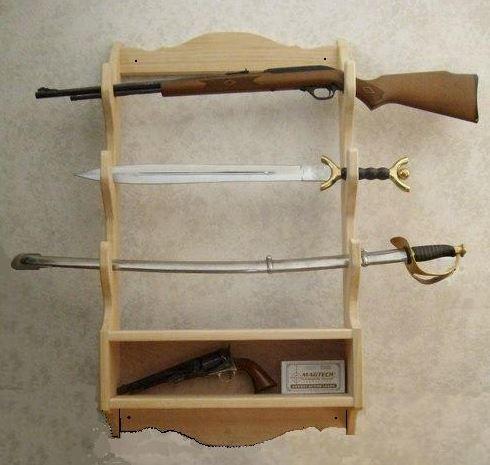 Gun display rack