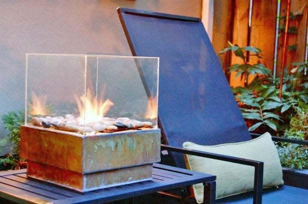 A modern firepit DIY