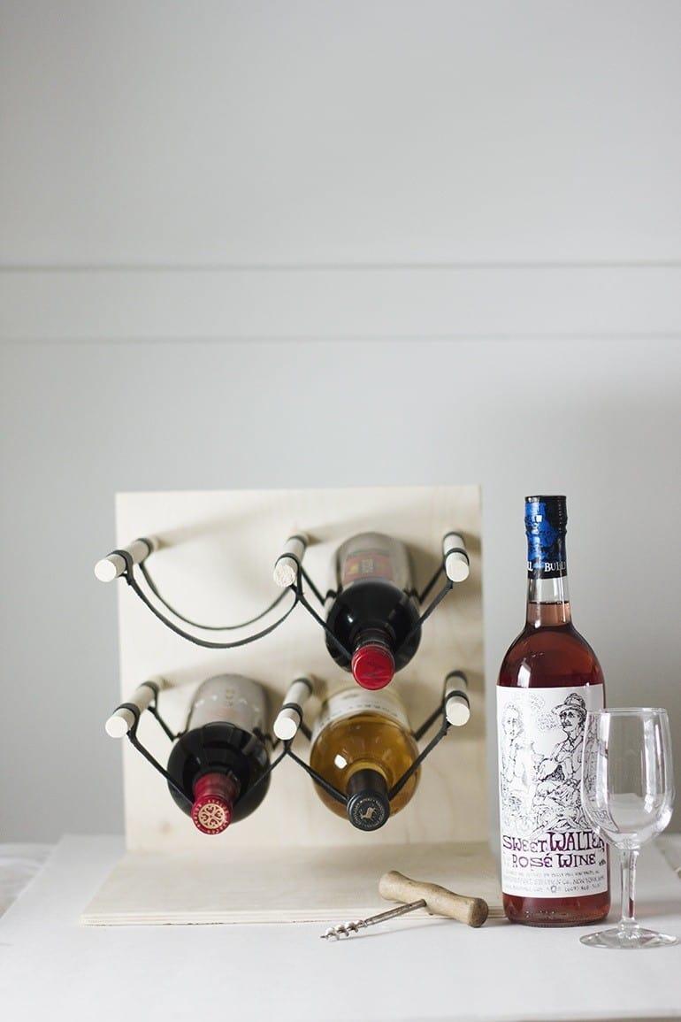 Simple wine rack