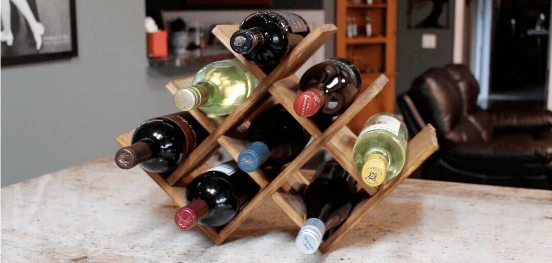 Basic wine rack