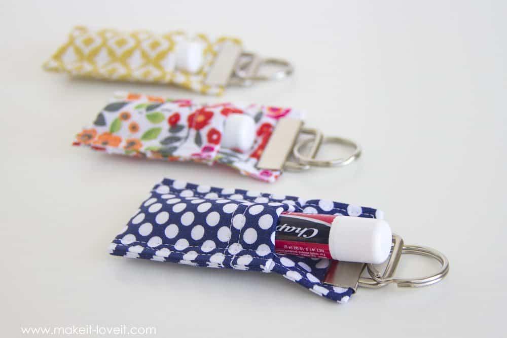 Chapstick keychain