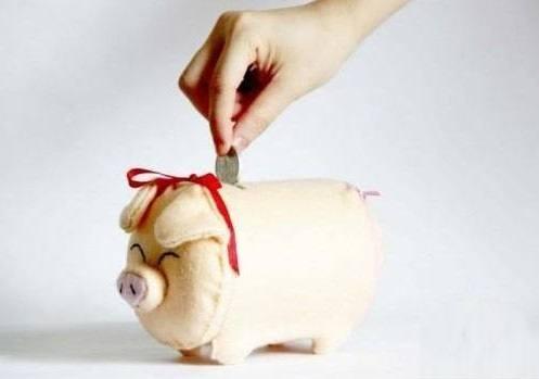 Nude pig piggy bank
