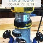 Cover image for plunge router vs fixed router comparison guide