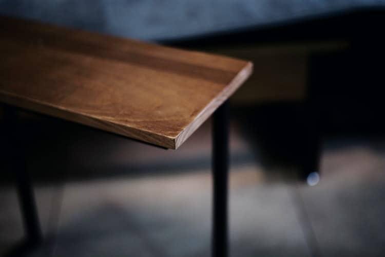Wood with polyurethane