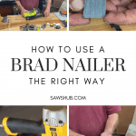 Cover image for how to use a brad nailer, the right way